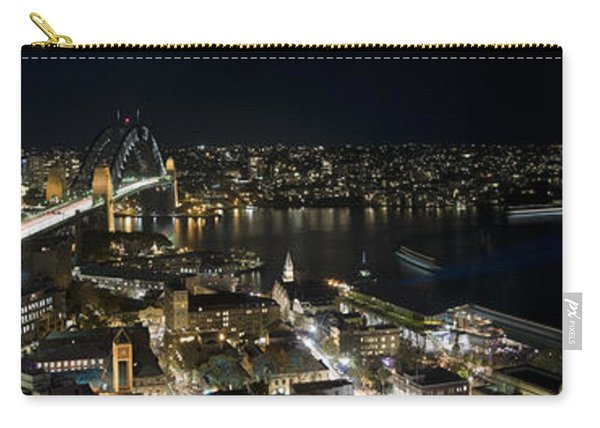 Buildings Lit Up At Night, Sydney, New Carry-all Pouch