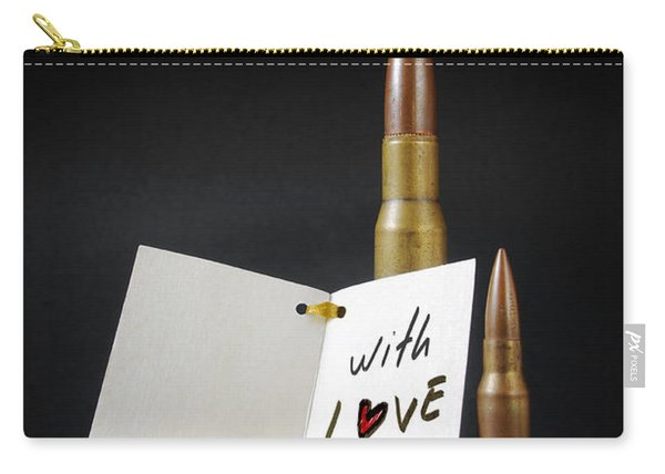 Bullets For You Carry-all Pouch