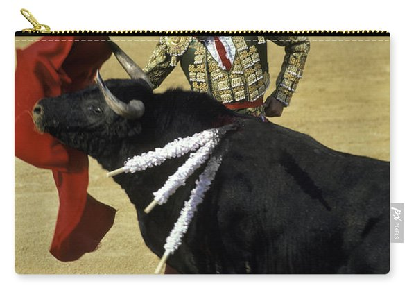 Bullfight Carry-all Pouch