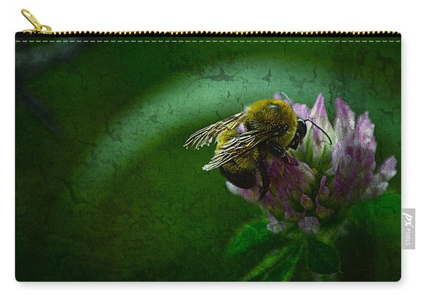 Bumble Bee Tattered Wings Art 2 Carry-all Pouch