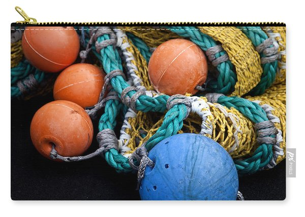 Buoys And Nets Carry-all Pouch