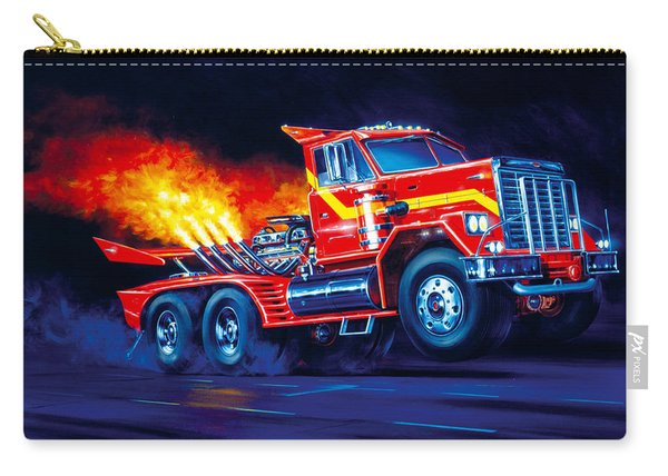 Burn Out Carry-all Pouch