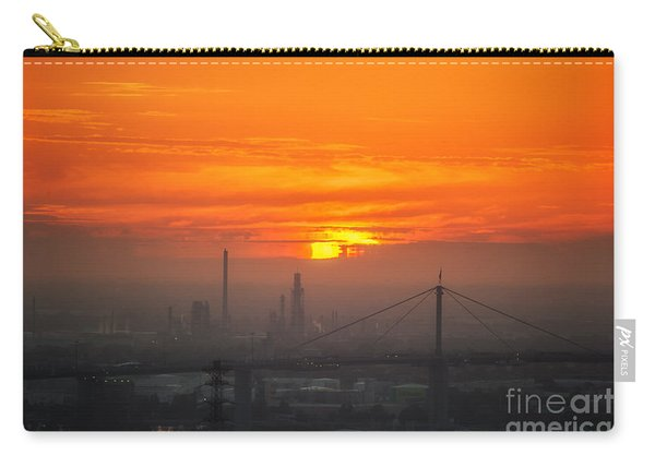 Burning Sunset II Carry-all Pouch
