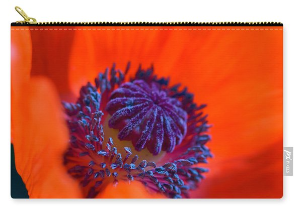 Carry-all Pouch featuring the photograph Bursting With Colour by Garvin Hunter