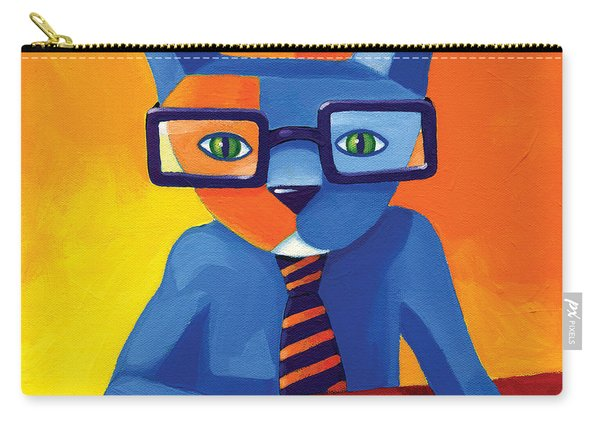 Business Cat Carry-all Pouch