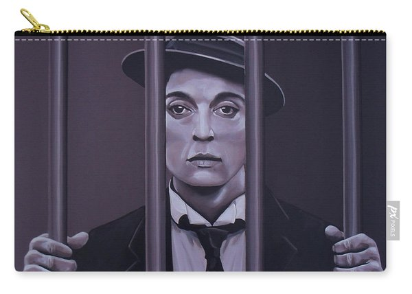 Buster Keaton Painting Carry-all Pouch
