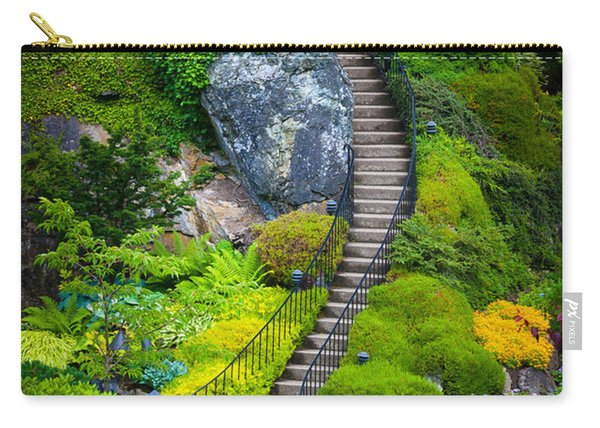 Butchart Gardens Stairs Carry-all Pouch