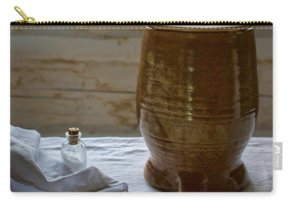 Butter Makers Crock And Salt Carry-all Pouch