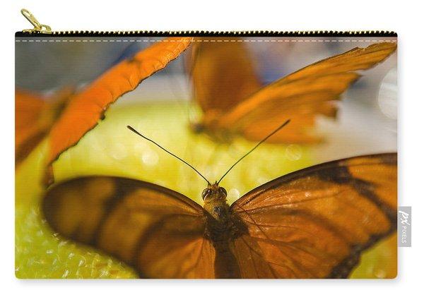 Butterflies Feeding Carry-all Pouch