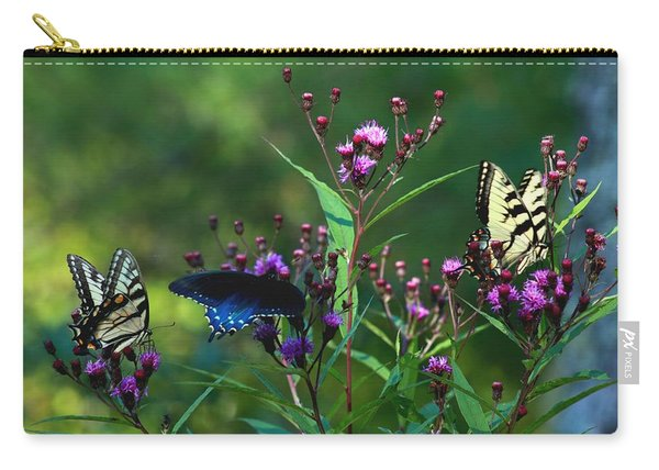Butterflies Three Carry-all Pouch