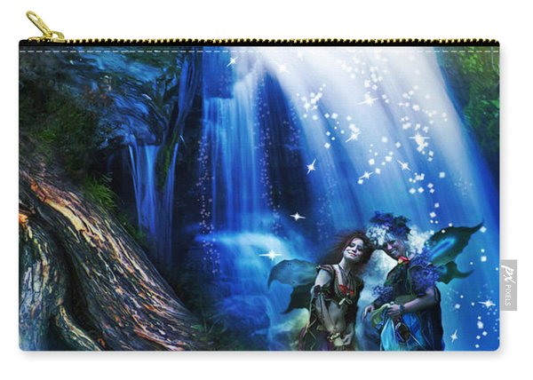 Butterfly Ball Waterfall Carry-all Pouch