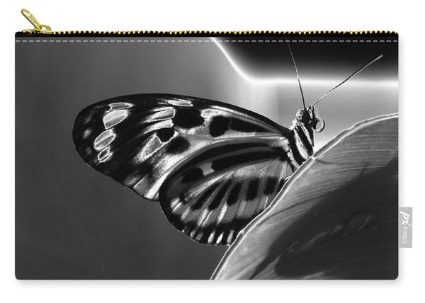 Butterfly Solarized Carry-all Pouch