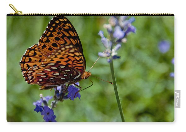 Butterfly Visit Carry-all Pouch