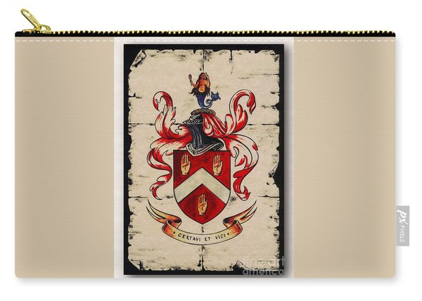 Byrne Coat Of Arms Carry-all Pouch