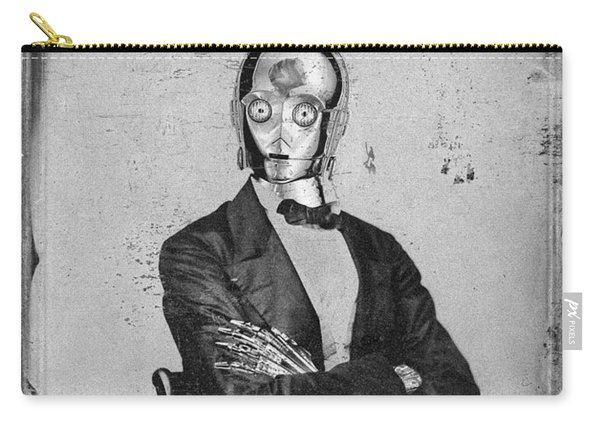 C-3po Star Wars Antique Photo Carry-all Pouch