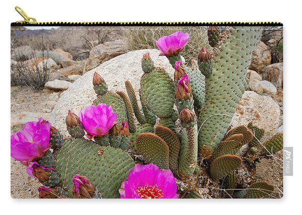 Cactus Blooms Carry-all Pouch