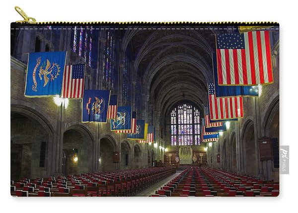 Cadet Chapel At West Point Carry-all Pouch