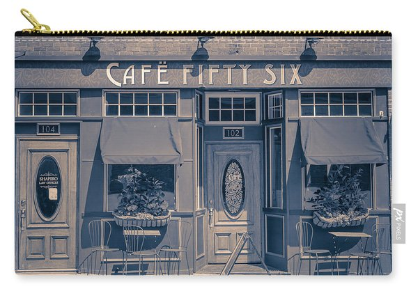 Cafe Fifty Six Middletown Connecticut Carry-all Pouch