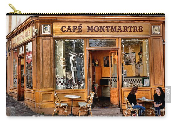 Cafe Montmartre Carry-all Pouch
