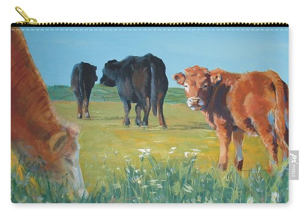 Calf Painting Carry-all Pouch
