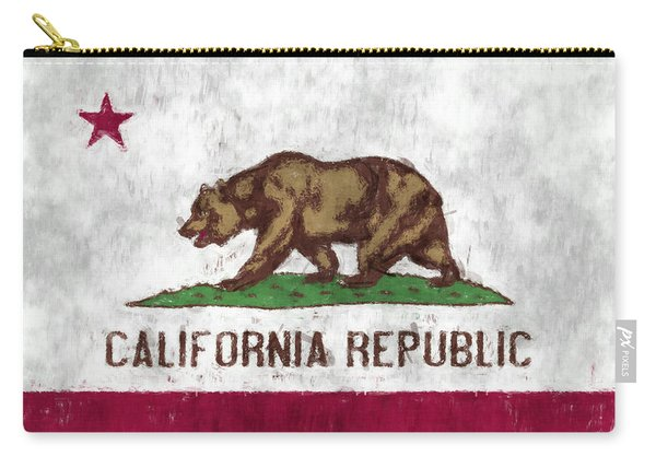 California Flag Carry-all Pouch