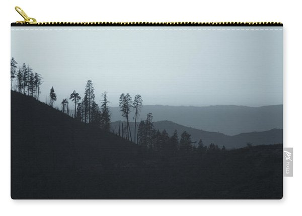 California Gray Skies Carry-all Pouch