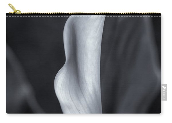 Calla Lily No. 2 - Bw Carry-all Pouch