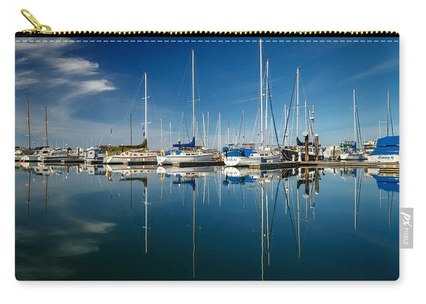 Calm Masts Carry-all Pouch