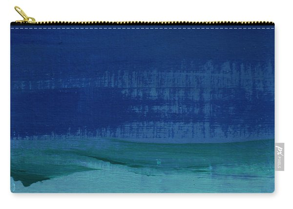 Calm Waters- Abstract Landscape Painting Carry-all Pouch
