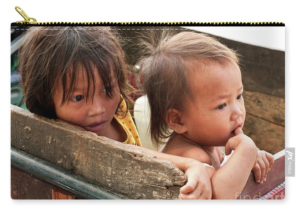 Cambodian Children 03 Carry-all Pouch