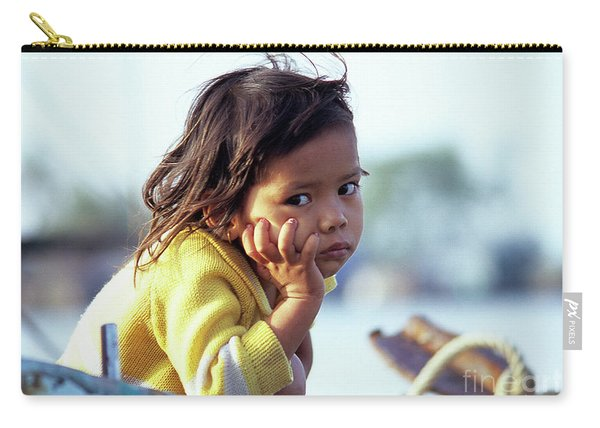 Cambodian Girl 01 Carry-all Pouch