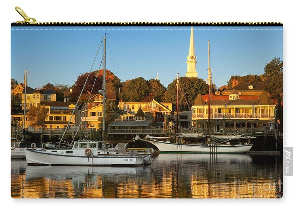 Carry-all Pouch featuring the photograph Camden Maine by Brian Jannsen