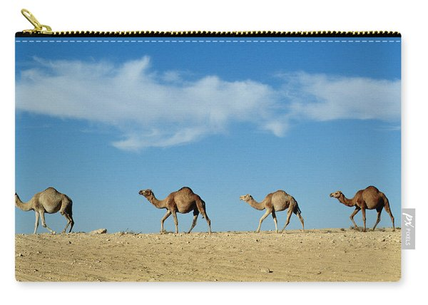 Camel Train Carry-all Pouch