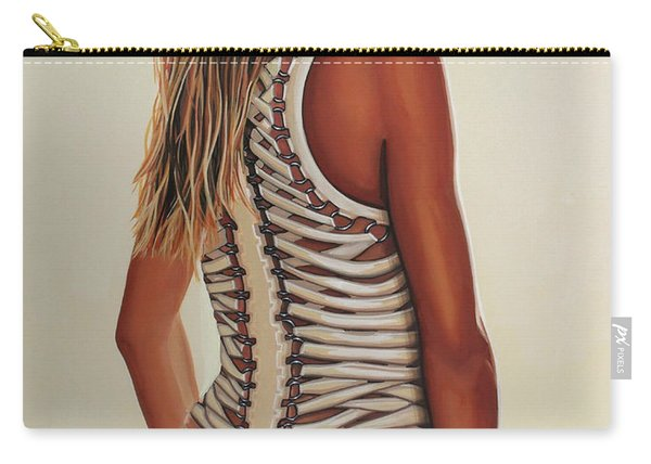 Cameron Diaz Painting Carry-all Pouch