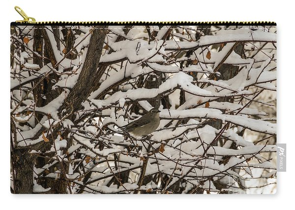 Camouflaged Thrush Carry-all Pouch