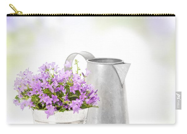 Campanula Flowers Carry-all Pouch