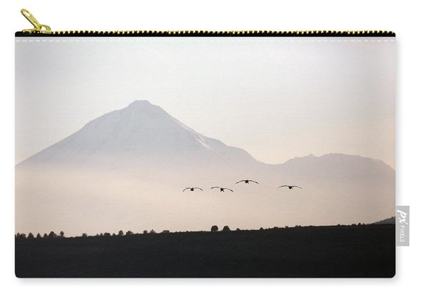 Canada Geese Branta Canadensis Fly Carry-all Pouch