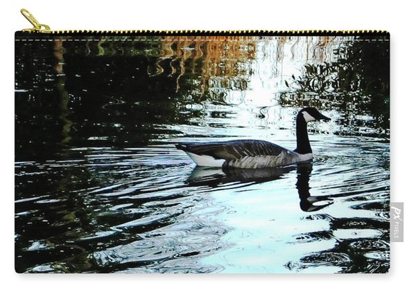 Canadian Goose At Burden  Carry-all Pouch