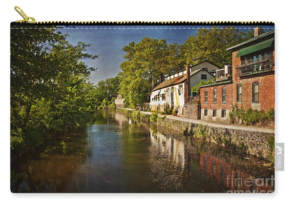 Canal Along The Porkyard Carry-all Pouch
