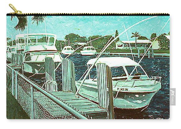 Canal At Pompano Carry-all Pouch