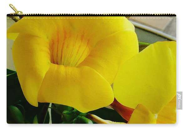 Canario Flower Carry-all Pouch