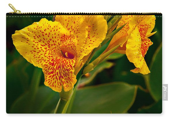 Canna Blossom Carry-all Pouch