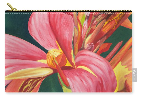 Canna Lily 2 Carry-all Pouch