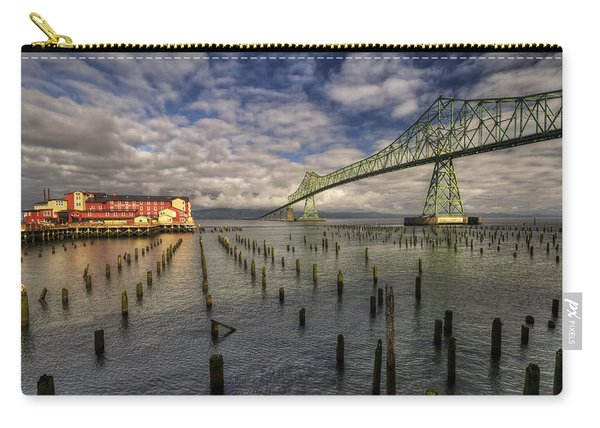 Cannery Pier Hotel And Astoria Bridge Carry-all Pouch