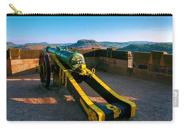 Cannon At The Fortress Koenigstein Carry-all Pouch