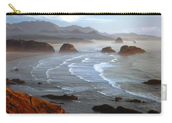 Cannon Beach At Sunset Carry-all Pouch