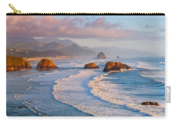 Cannon Beach Sunset Carry-all Pouch
