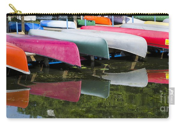 canoes - Lake Wingra - Madison  Carry-all Pouch