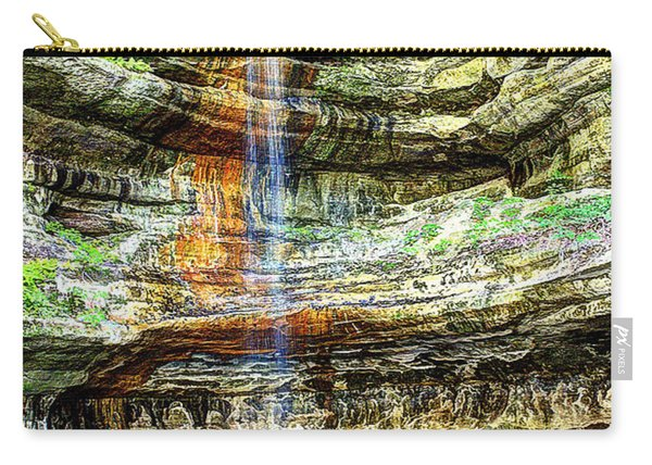 Canyon Starved Rock State Park Carry-all Pouch