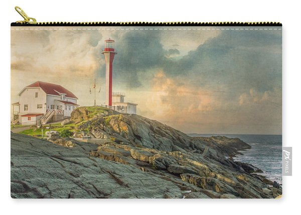 Carry-all Pouch featuring the photograph Cape Forchu  by Garvin Hunter